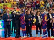 """La Junta destaca que la Supercopa de España de Fútbol Sala, celebrada en Guadalajara, es """"un espaldarazo"""" para el deporte y el turismo regional"""