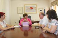 La mejora en servicios sanitarios y educativos y la rehabilitación patrimonial marcan la reunión entre el Gobierno regional y el alcalde de Carrión de Calatrava