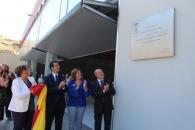 La consejera de Economía, Empresas y Empleo, Patricia Franco, ha asistido a la inauguración del nuevo pabellón multiusos de Piedrabuena (Ciudad Real).