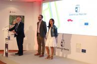 Presentación Proyectos ITI de Turismo de la Diputación en el stand de la Junta