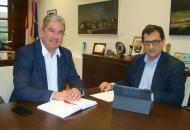 """El Gobierno regional """"toma nota"""" de las demandas planteadas por el alcalde de Quintanar y apela a la colaboración institucional """"para poder llevar adelante el mayor número de proyectos"""""""