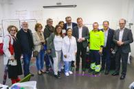 El Gobierno regional agradece a los profesionales sanitarios del SESCAM su trabajo en el Puesto de Atención a Urgencias Médicas del Ferial de Albacete