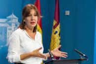 La consejera de Igualdad y portavoz del Gobierno regional, Blanca Fernández, comparece en la Comisión de Igualdad en las Cortes regionales