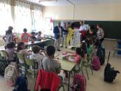 El Gobierno de Castilla-La Mancha conciencia al alumnado del CEIP      'Nuestra Señora de la Encarnación' de Carrión de Calatrava sobre el cuidado del medio ambiente