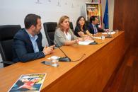 La consejera de Educación, Cultura y Deportes, Rosa Ana Rodríguez, presenta los actos que se celebrarán durante la Semana Europea del Deporte