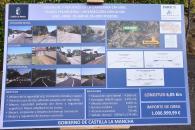 Inauguración de carreteras en El Real de San Vicente