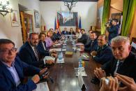 Reunión del Consejo de Gobierno itinerante en Sigüenza