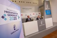 Los presupuestos 2020 crecen un 6,3 por ciento, con 480 millones adicionales para la cohesión social y un crecimiento económico sostenible