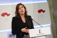 Rueda de prensa del Consejo de Gobierno (Blanca Fernández I)