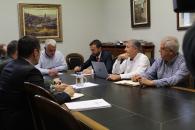 EL CONSEJERO DE DESARROLLO SOSTENIBLE SE REÚNE CON EL PRESIDENTE DE LA DIPUTACIÓN DE GUADALAJARA