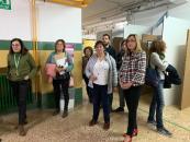 Inauguración de la exposición ##YouToo en el IES Tomás Navarro Tomás