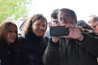 La consejera de Economía, Empresas y Empleo, Patricia Franco, inaugura la nueva ruta turística virtual de la Batalla de Alarcos, en Poblete