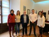 Reunión del delegado de la Junta en Albacete con el Ayuntamiento de Alcaraz