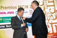 Ceremonia de entrega de los premios de la Federación Empresarial de Ciudad Real (FECIR).