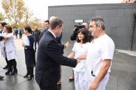 Visita a la ampliación del Servicio de Medicina Nuclear del Hospital General de Ciudad Real