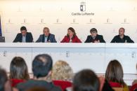 La consejera de Bienestar Social, Aurelia Sánchez, preside el Seminario de la Constitución de las Red de Barrios.