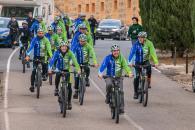Ruta ciclista por el clima 'Moving for climate Now'