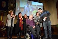 La consejera de Economía, Empresas y  Empleo, Patricia Franco, asiste a la entrega de premios del Patronato Municipal de Personas con Discapacidad de Ciudad Real