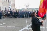 Acto institucional que se celebra en el Salón de Plenos de las Cortes de Castilla-La Mancha con motivo del 41 aniversario de la Constitución Española