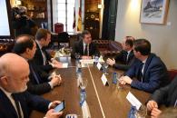 Reunión de la Comisión de Seguimiento de las Obras del Hospital de Albacete