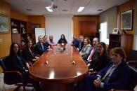 La consejera de Economía, Empresas y Empleo, Patricia Franco, y la consejera de Igualdad y Portavoz, Blanca Fernández, asisten a la firma del Plan de Igualdad de la empresa Tecnobit