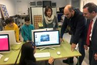 Un total de 32 centros educativos públicos de la provincia y cerca de 15.000 estudiantes participan este curso en el proyecto de innovación formativa en competencias digitales, científicas y tecnológicas STEAM