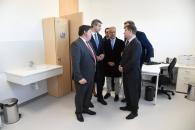 Inauguración del nuevo consultorio médico local en Cobisa