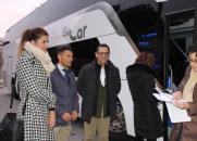 El Gobierno regional cumple su compromiso de mejorar los horarios del transporte público interurbano en la Comarca de Ocaña para facilitar el acceso de viajeros a servicios básicos, como educativos o sanitarios