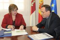 Minas de Almadén y Arrayanes analiza con el Gobierno de Castilla-La Mancha los proyectos de futuro de la empresa pública
