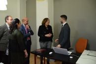 La consejera de Economía, Empresas y Empleo, Patricia Franco, visita el Vivero de Empresas de la Asociación de Jóvenes Empresarios (AJE)