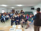 El Gobierno regional ensalza el gran valor natural del Parque Natural del Valle de Alcudia y Sierra Madrona como cuartel de invernada para las grullas en su proceso migratorio