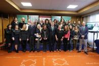 La directora del Instituto de la Mujer, Pilar Callado, asiste a la clausura de la Universidad Mujer Rural de la Fundación Eurocaja Rural