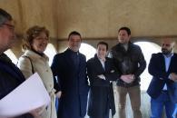 El consejero de Agricultura, Agua y Desarrollo Rural, Francisco Martínez Arroyo, visitA las nuevas instalaciones fotovoltaicas del Instituto de la Vid y el Vino de Castilla-La Mancha (IVICAM).