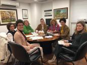 Reunión de la Delegación provincial de Bienestar Social con Cruz Roja Albacete