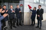 Inauguración de la nueva planta de la multinacional Bell Group en Fuensalida (Toledo)
