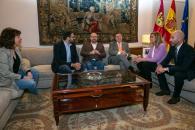 Encuentro institucional con la portavoz de Ciudadanos en Castilla-La Mancha