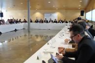 El consejero de Agricultura, Agua y Desarrollo Rural, Francisco Martínez Arroyo, preside la reunión de la Mesa Regional del Agua de Castilla-La Mancha