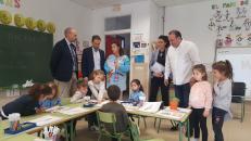 La apuesta del Gobierno regional por la Educación en Talavera se ve reflejada en los más de 14.000 alumnos matriculados en los centros docentes de la ciudad