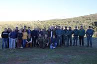 """""""Quisquilloso"""", tercer lince liberado este año por el Gobierno de Castilla-La Mancha en la zona sur de la provincia de provincia de Ciudad Real"""