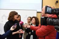 La consejera de Igualdad y portavoz del Gobierno regional, Blanca Fernández, asiste a la 'I Jornada de presentación y difusión de los trabajos de investigación de la convocatoria de ayudas a la investigación 2019 del Instituto de la Mujer' (II)