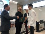 El delegado provincial de Educación participa en la entrega de diplomas a los 19 estudiantes del Bachillerato Internacional de la promoción 2017-2019 del IES 'Carlos III' de Toledo