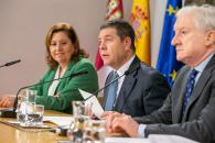Convenio para la celebración de la exposición 'Burgos-Toledo. Orígenes de España'