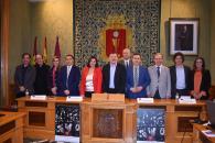 La viceconsejera de Cultura y Deportes, Ana Muñoz, asiste a la presentación de la Semana de Música Religiosa de Cuenca