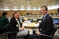 La consejera de Educación, Cultura y Deportes, Rosa Ana Rodríguez, asiste a la Conferencia General de Política Universitaria
