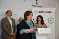El Plan Adelante ayuda a impulsar en más de ocho puntos la tasa de empleo y a consolidar cuatro años en positivo en natalidad empresarial en la provincia de Ciudad Real