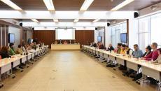La consejera de Bienestar Social, Aurelia Sánchez, preside la reunión constitutiva de la 'Comisión de Trabajo del Eje 7: Sociedad del Bienestar para la elaboración del Pacto por el Crecimiento y la Convergencia Económica 2019-2023'