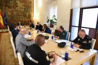 Reunión con el delegado del Gobierno de España en la región