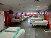 El Hospital General de Valdepeñas alcanza las 148 camas instaladas dentro de su plan de contingencia frente al coronavirus