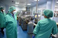 Visita a la compañía farmacéutica Insud Pharma (Presidente)