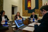 Videoconferencia con representantes del sector de la cultura de la región